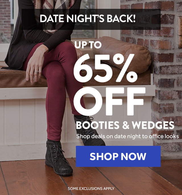 Shop Booties and Wedges